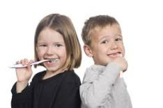 Vaikų dantukų priežiūra