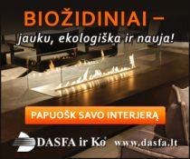 Biožidiniai, įdėklai iš patikimų Europos gamintojų