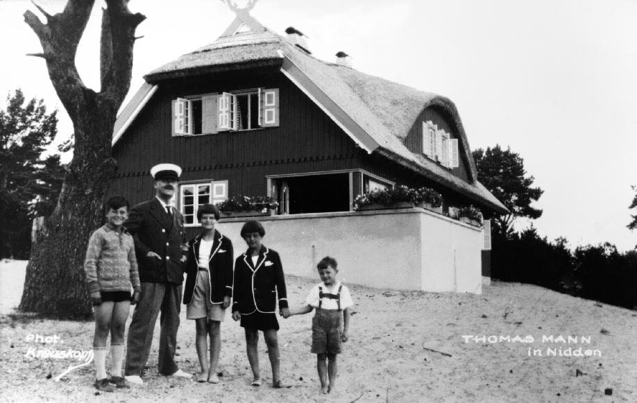 Thomas Mann in Nidden