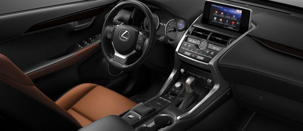 Lexus NX 300h salonas