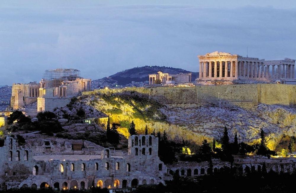 Akropolio kalva Atėnai