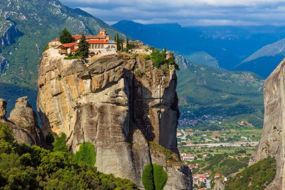 Meteoros vienuolynai Graikija