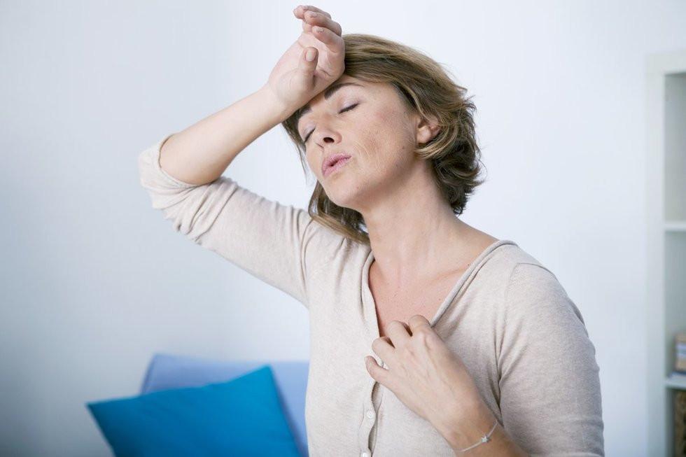 menopauzės erekcija