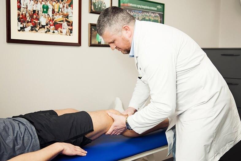 Ortopedo apžiūra I Gijos klinikos