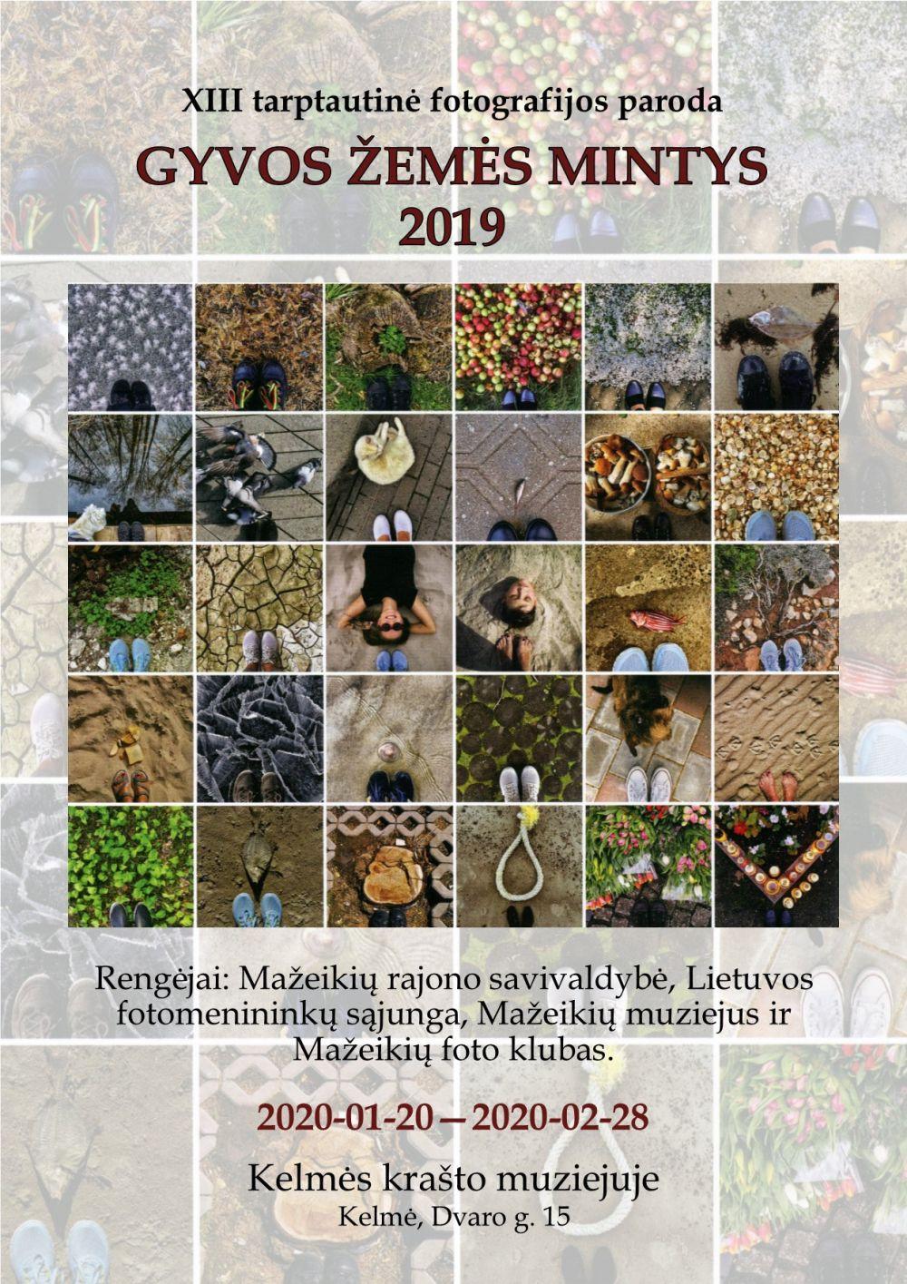 """Tarptautinė fotografijos paroda """"Gyvos žemės mintys 2019"""""""