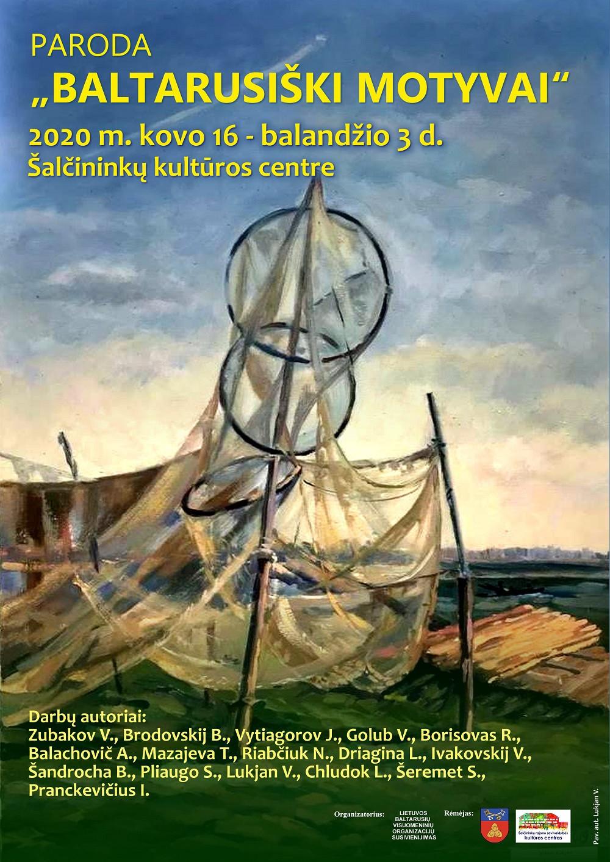 """Paroda """"Baltarusiški motyvai"""" Šalčininkų kultūros centre"""
