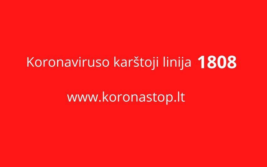 Visa informacija apie koronavirusą – vienoje vietoje
