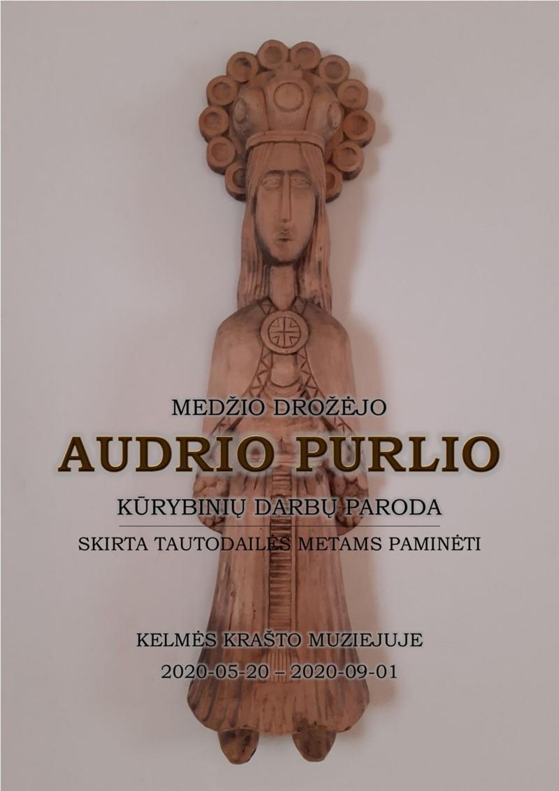 Kelmės krašto muziejus - Audrio Purlio kūrybinių darbų paroda