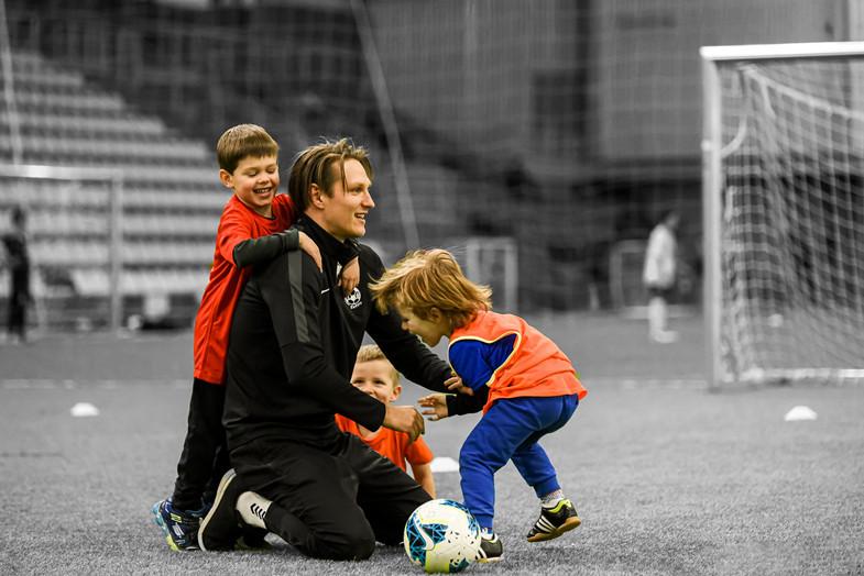 Kuo atžalai naudinga futbolo mokykla Vilniuje?