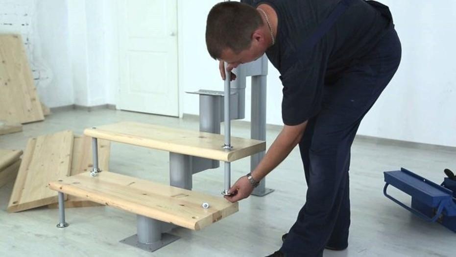 Modulinių laiptų montavimo rekomendacijos