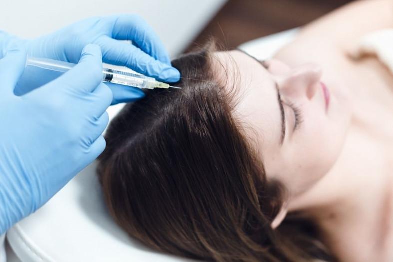 PRP procedūra – išsigelbėjimas silpniems, slenkantiems plaukams