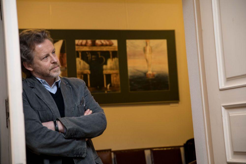 """M. K. Čiurlionio namai Vilniuje pradeda laidų ciklą """"M. K. Čiurlionio etiudai su pianistu Roku Zubovu"""" Youtube kanale"""