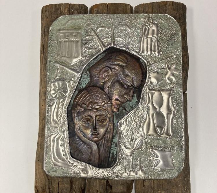 Alfonso Šuliausko metalo plastikos kūrinių paroda