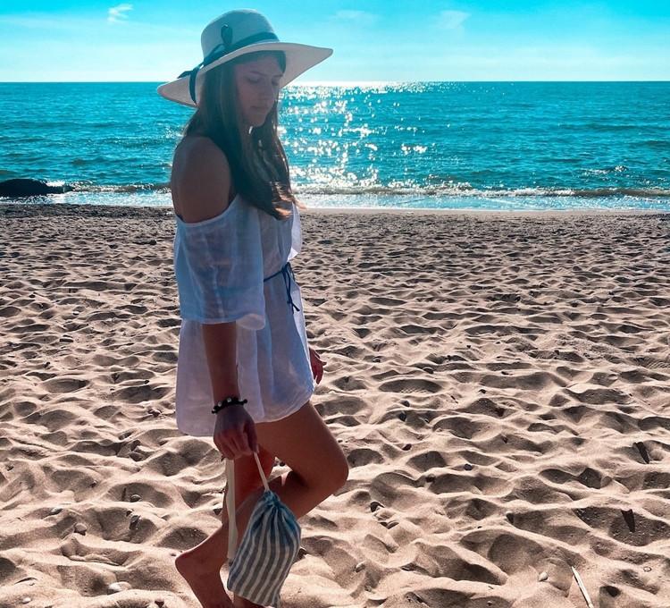 Paplūdimio rankšluosčiai su apsauga nuo saulės. Kas tai?