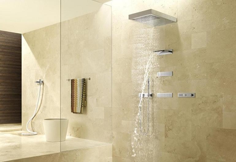 Patarimai renkantis dušo maišytuvą