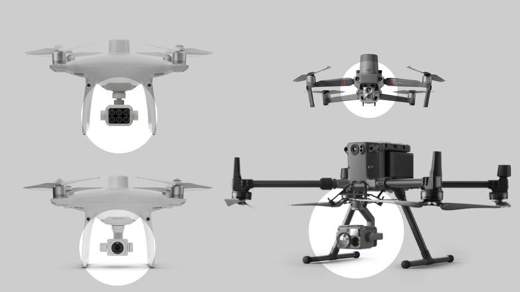 Aktuali informacija apie DJI dronų kameras 2021-2022 metais
